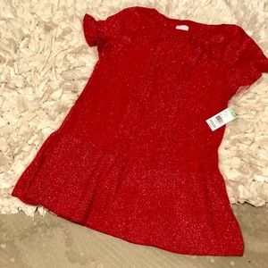 NWT Red & Silver Dress